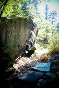 Rock Climbing Photo: Triangle Arete - V3