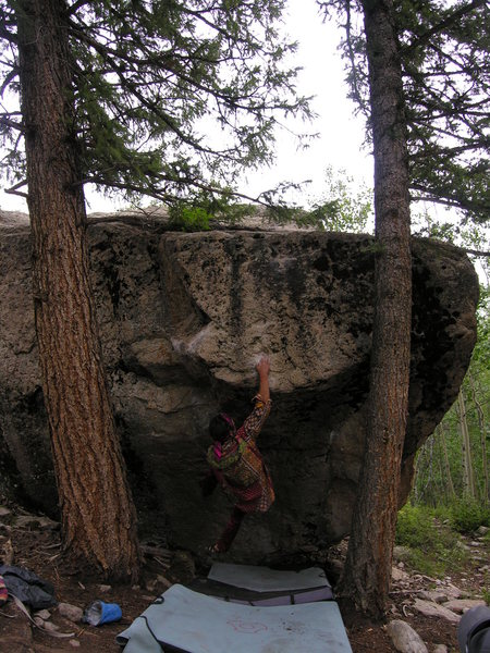 Rock Climbing Photo: Dave Marcinowski on Portrait of an Artist.