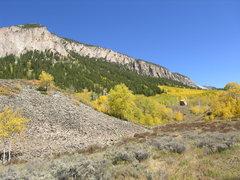 Rock Climbing Photo: Skyland in the fall, photo taken from Tony's Trail...