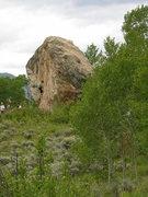 Rock Climbing Photo: Jenny Bancroft on Blunt Boy.