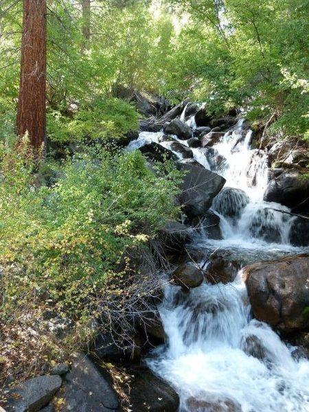 First Falls, North Fork Big Pine Creek