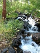 Rock Climbing Photo: First Falls, North Fork Big Pine Creek
