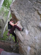 Rock Climbing Photo: Phil Street on the Wedge Arete.