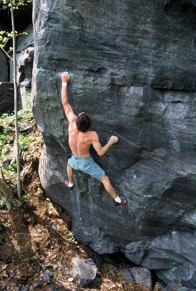 Rock Climbing Photo:    Ohhh yeah,... the sweet stone. EZ running a lap...