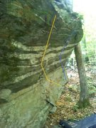Rock Climbing Photo: Orange - Home For The Heartless V0  Blue - The Hil...
