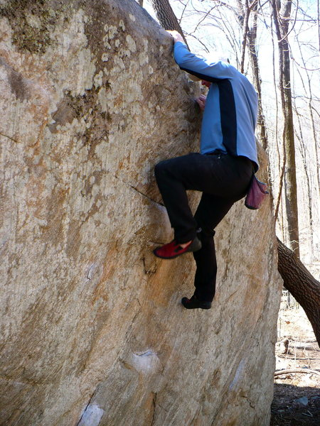 Basketball Mantle V3, Rumbling Bald, NC.