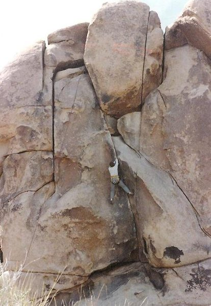 "Rodger Top Roping ""Stemulation,"" 5.9 (R)"