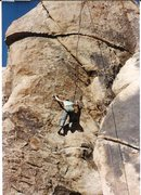"Rock Climbing Photo: Anne Raubach toproping ""Black Eye,"" 5.9 ..."