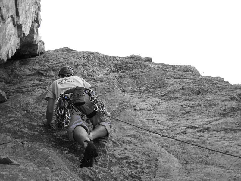 Rock Climbing Photo: Leading Six Appeal