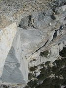 Rock Climbing Photo: Mechanics Route (5.8 R), Tahquitz, CA