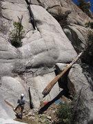 Rock Climbing Photo: Start of pitch 1