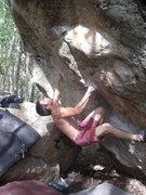 Rock Climbing Photo: Ian Dory on Supernatural, V9.