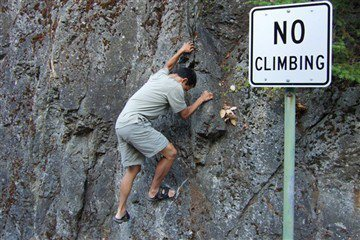 Yes climbing