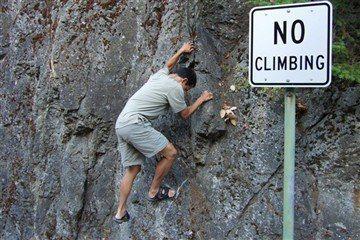 Rock Climbing Photo: Yes climbing