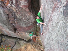 Rock Climbing Photo: Jugs.