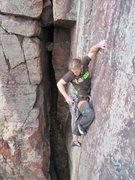 Rock Climbing Photo: Vinny, of NU Climbing.