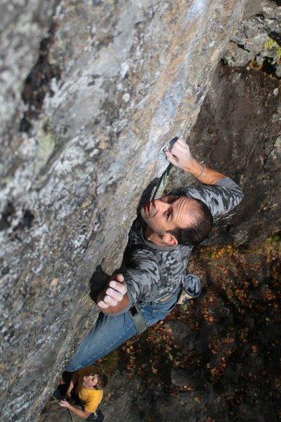 Jakob reaching