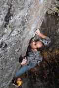 Rock Climbing Photo: Jakob reaching