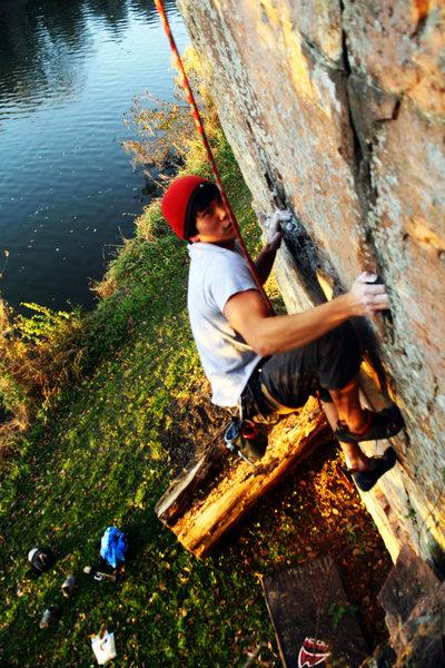 Rock Climbing Photo: Michael Madsen