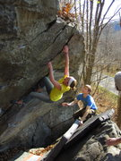 Rock Climbing Photo: Bouldering in CT