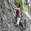 sport climbing in Luang Prabang, Laos