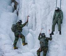 Rock Climbing Photo: ice rescue