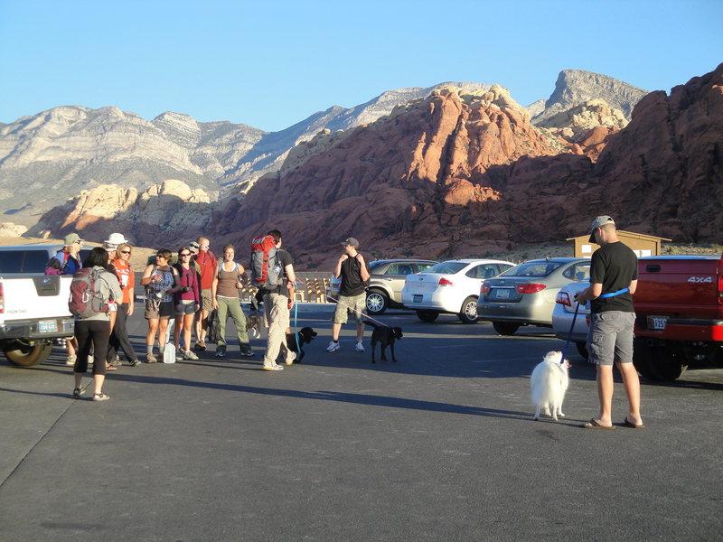 10/16/10 red rock climbing