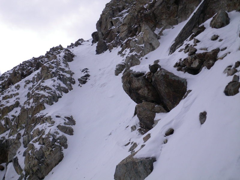 16-October-2010: final chute to summit