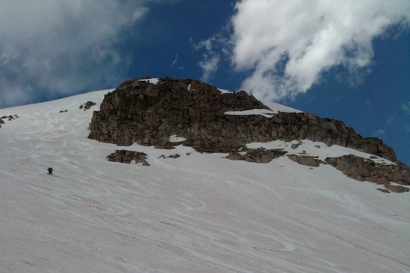 Rock Climbing Photo: We greeted the marmots on the summit, then had a s...