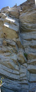 """Rock Climbing Photo: Slightly foreshortened view of the line for """"..."""