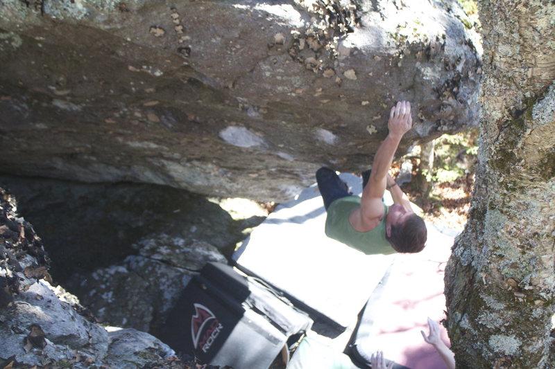 Jody Johnston finishing Beast maker(v7+)