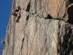 Rock Climbing Photo: Small feets! Photo by Alexa Siegel