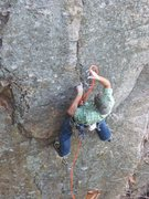 Rock Climbing Photo: Pete from SLC, on-sight.