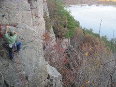 Rock Climbing Photo: Finishing Coup d'Etat