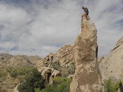 Rock Climbing Photo: Tucker Tech on Spinner.