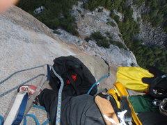 Rock Climbing Photo: the pig