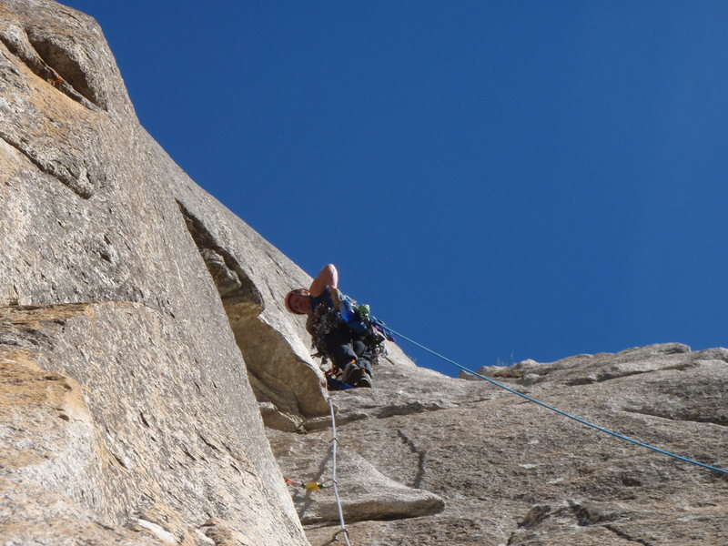 Rock Climbing Photo: the strange dihiedral
