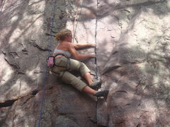 Rock Climbing Photo: Gretchen