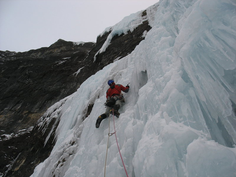 Rock Climbing Photo: Wes Bender on pitch 2.