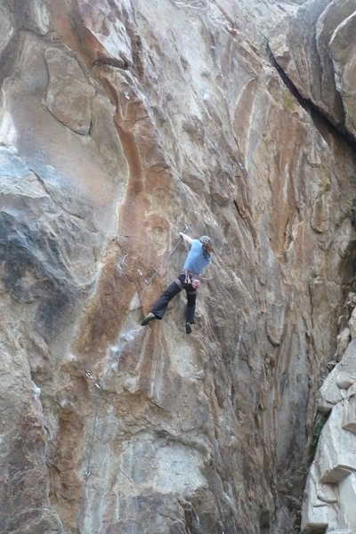 Rock Climbing Photo: Lizzy Scully.