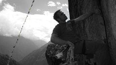 Rock Climbing Photo: Route above Namche Bazaar. Close to Sunshine Lodge...