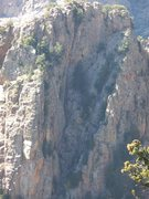 Rock Climbing Photo: The ramp feature of the North Ramp Route of Hail P...