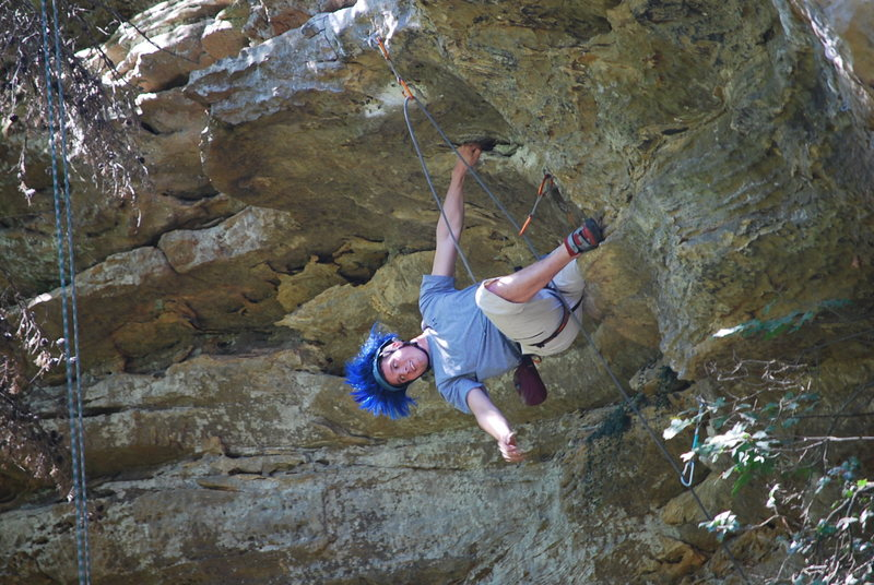 Rock Climbing Photo: Nice hair!