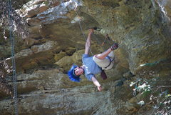 Rock Climbing Photo: Nice hair!
