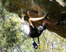 Rock Climbing Photo: Good holds...