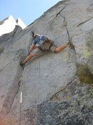 Rock Climbing Photo: This may be a jam crack for some, but I did a lot ...