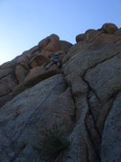 Rock Climbing Photo: Brian Rowe leading See Snake Bounce.