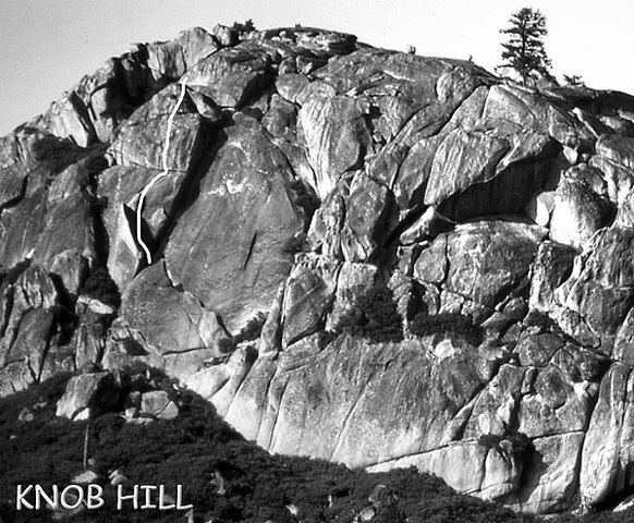 "Rock Climbing Photo: ""Knob Hill"". Photo by Blitzo."