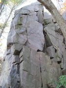 Rock Climbing Photo: This is the north corner of the south buttress. &q...