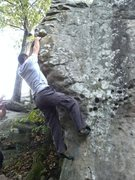 Rock Climbing Photo: Match..